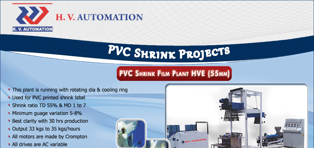 PVC Shrink Projects