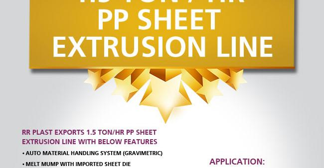 Sheet-Extrusion-line1