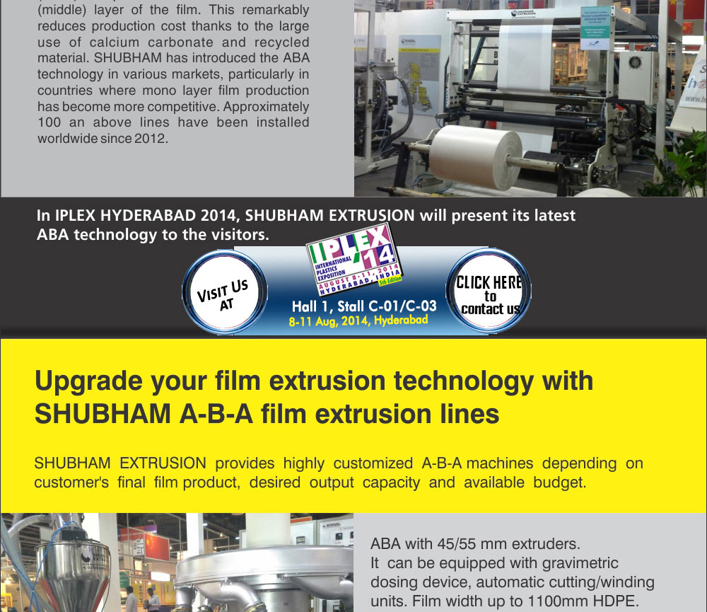 Shubham ABA Film Extrusion Line
