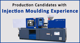 Candidates with Injection Moulding Experience