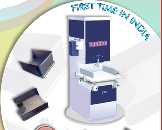Vrunda enterprise manufacturer of plastic carry bag for T shirt manufacturing machine in india