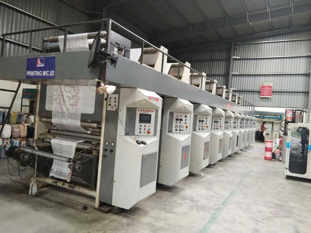 Complete film converting lamination unit