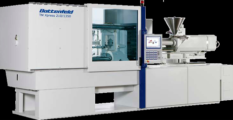 TM Xpress 160 to 450 tons Injection Moulding Machines