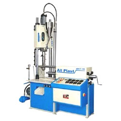 Vertical Screw Type Toggle Clamping Moulding Machine