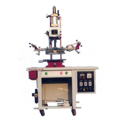 Hot Stamping Machine for Flat Objects