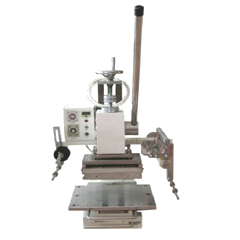 Manual Stamping Machine for Flat Object