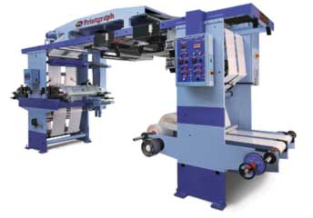 2-8 Colour Flexographic Printing Machine-2