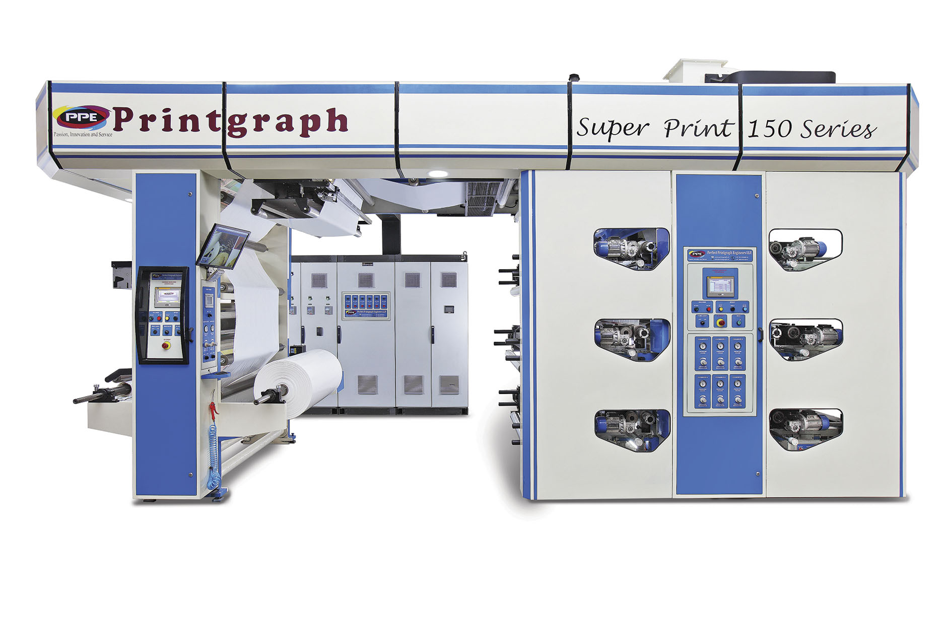 High Speed Flexographic Printing Press