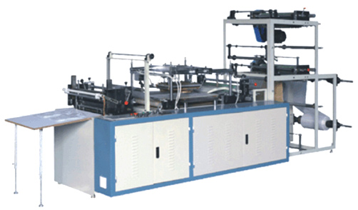High Speed Micro Processor Controlled Bottom Seal Bag Making Machine