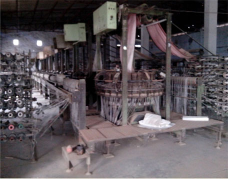 Circular Flat Weaving Looms