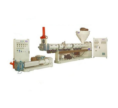 Two Stage Extruder for Recycling