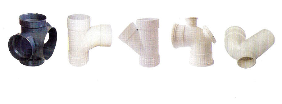 PVC drainage / sewage pipe fitting moulds_2