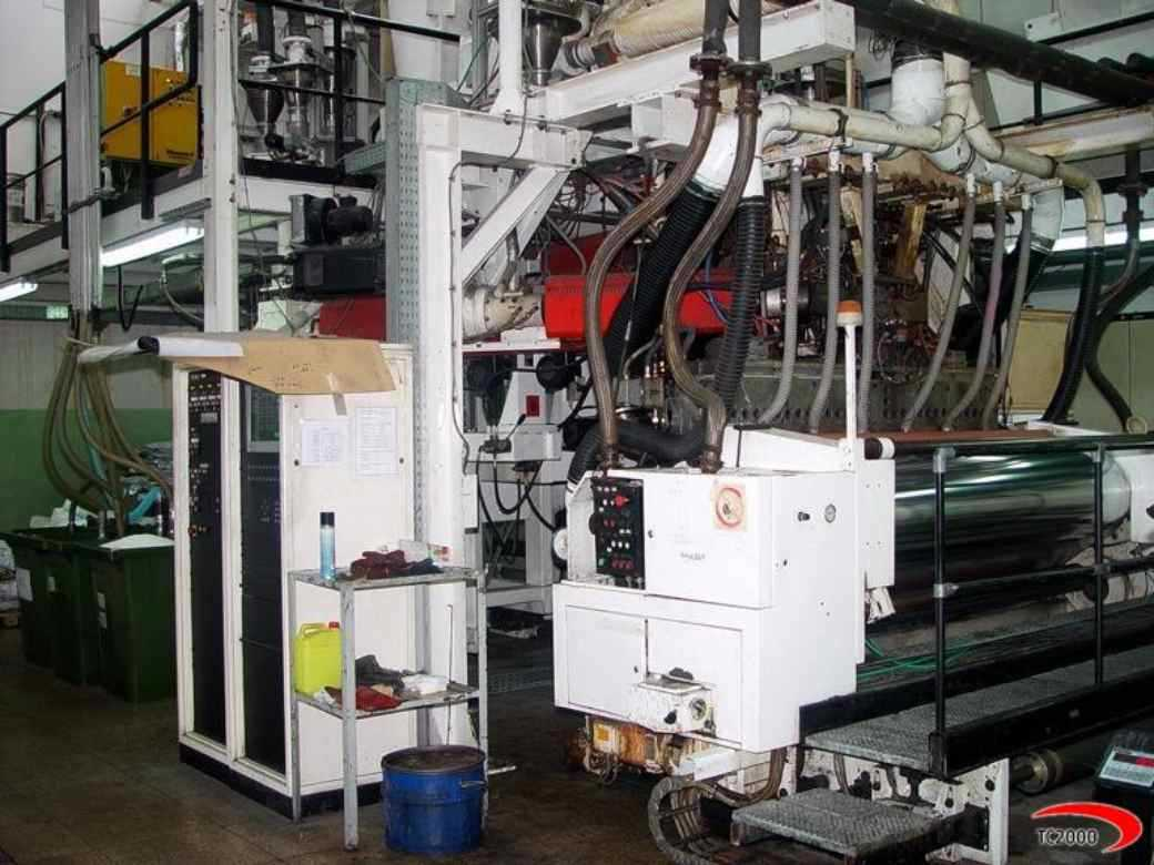 Windmoller  and Holscher 5 layer cast film line