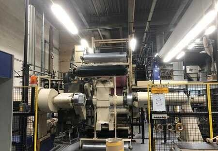 Refurbished Rotomec lamination& coating line