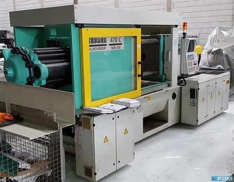 Arburg Injection Moulding Machines In Europe