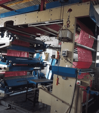 Aflex 6 Color, 1650 mm flexo printing machine
