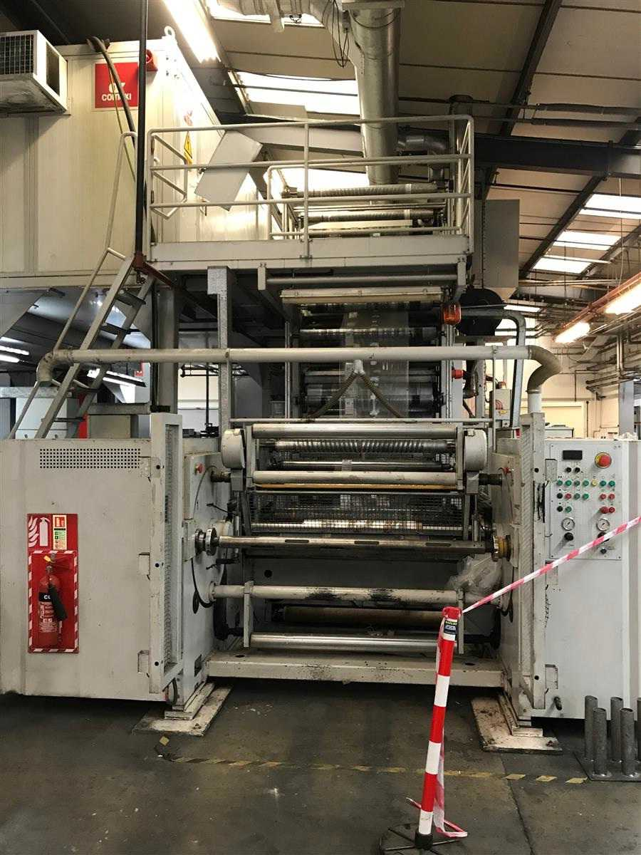 Comexi 8 Colours CI Flexo Printing Machine