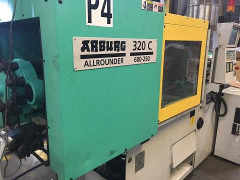 Arburg Allrounder 60 Ton Injection Moulding Machine in USA