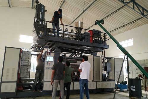 Chinese make 270 litres blow moulding machine