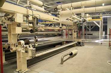 Bruckner 6600 mm bopp co-extrusion line