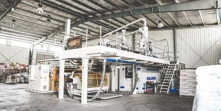 Colines 3 layers cast film extrusion machine
