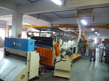 Shin Ruey Taiwan PP stationery sheet extrusion machine
