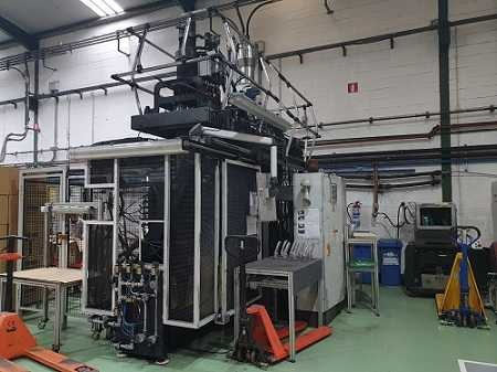 Kautex KB15 blow moulding Machine