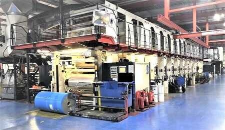 Windmoeller & Hoelscher 10 colours rotogravure printing machine