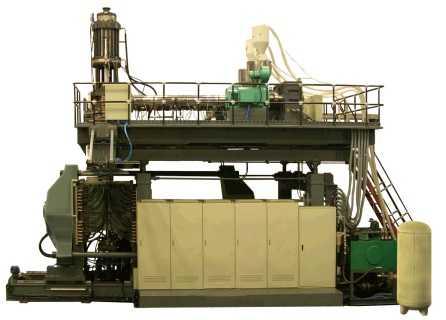 IBC 1250 Liter Blow Moulding Machine In Turkey
