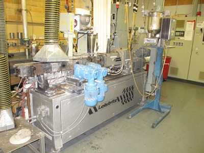 Liestritz twin screw pelletizing line