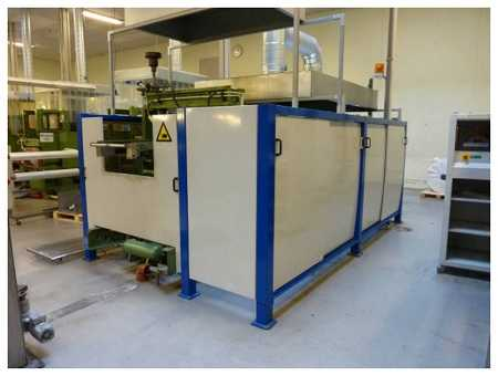 500,000 Lids / day thermoforming machine