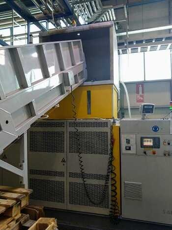 300 kg/h NGR recycling line