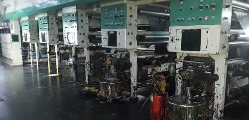 Raulimex 8 colors rotogravure printing machine