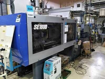 Sumitomo 180 ton electric injection molding machine