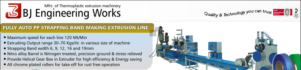 Manufacturer of Thermoplastic extrusion machinery
