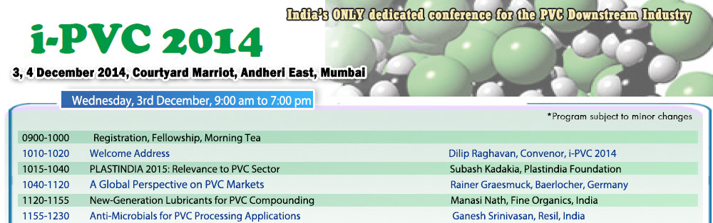 IPVC-14-india-only-dedicated-conference-PVC-Downstream-Industry