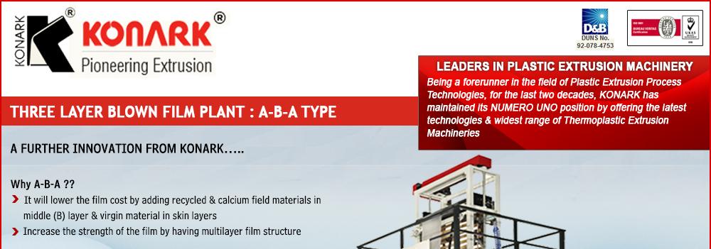 Three Layer Blown Film Plant