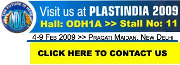 Visit us at Plastindia 09