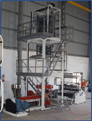 Two Layer Stretch Cling Film Plant