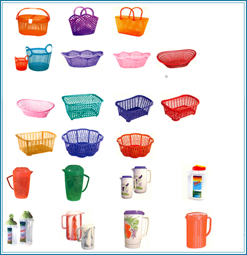 Home Items: Plastic Houseware Products, Crates Manufacturer Of Plastic